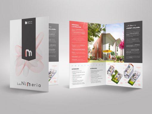Plaquette commerciale – Immobilier